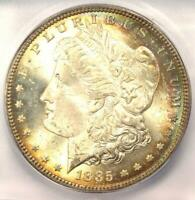 1885-CC MORGAN SILVER DOLLAR $1 COIN - ICG MINT STATE 66 -  IN MINT STATE 66 - $1,750 VALUE
