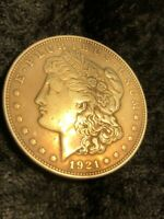 1921 MORGAN SILVER DOLLAR FSE014647