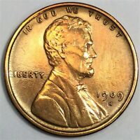 1909 S LINCOLN WHEAT CENT PENNY BEAUTIFUL HIGH GRADE COIN RA