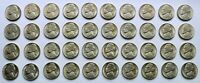 1946 S JEFFERSON NICKEL BU ROLL   40 COINS   NICE ROLL