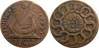 1787 FUGIO COPPER NEWMAN 7 T RARITY 5 VARIETY VERY FINE NICE