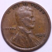 1922-D LINCOLN WHEAT CENT PENNY        J6GMMX
