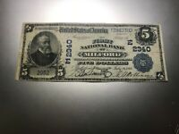 MILFORD, DELAWARE 1902 NATIONAL NOTE. CHARTER 2340. LY OFFERED