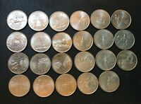 1999 2002 STATES COMMEMORATIVE QUARTERS   LOT OF 23 COINS