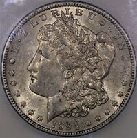 1894 O MORGAN SILVER DOLLAR AU 55 ICG BETTER DATE