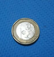 2013 SINGAPORE 1 ONE DOLLAR UNC COIN NEW CURRENCY