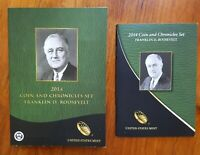 2014 FRANKLIN D. ROOSEVELT COIN & CHRONICLES SET IN ORIGINAL MINT PACKAGING