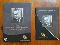 2015 LYNDON B. JOHNSON COIN & CHRONICLES SET IN ORIGINAL MINT PACKAGING