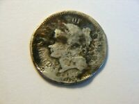 1876? 3 CENT NICKEL,  LOW MINTAGE 162 K VINTAGE COIN, CAN USE AS A FILLER
