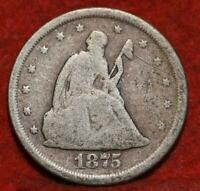 1875 S TWENTY CENT SILVER COIN.  LOW SHIPPING     COIN.