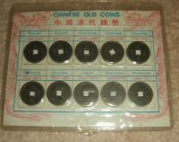 CHINESE OLD COINS SHUN CHI 1644   SHUEN TUNG 1911. CARDED DI
