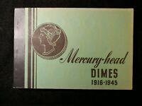 FULL COMPLETE SET OF MERCURY DIMES INCLUDING 1916 D 1921 & 1