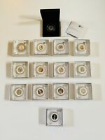 FULL COLLECTION SET OF BEATRIX POTTER PETER RABBIT SILVER 50