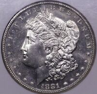 1881 S MORGAN SILVER DOLLAR MS 66 PROOF LIKE NGC DEEP MIRRORS