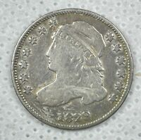 1829 CAPPED BUST DIME 10 CENTS -  COIN - SILVER