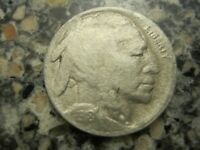 1918S BUFFALO NICKEL VF DETAILS RB3306 55C SHIPPING,SHIPS FREE ON 3 OR MORE