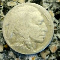 1916D BUFFALO NICKEL VF DETAILS RB3131 55C SHIPPING,SHIPS FREE ON 3 OR MORE