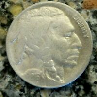 1916D BUFFALO NICKEL VF DETAILS RB3128 55C SHIPPING,SHIPS FREE ON 3 OR MORE