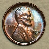 BRILLIANT UNCIRCULATED 1931 S LINCOLN CENT  BEAUTIFUL RED BR