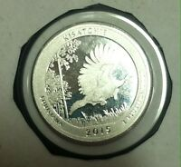 2015 S 25C KISATCHIE NP   SILVER DC  PROOF  AMERICA THE BEAU