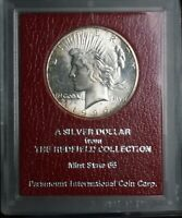 1926 S REDFIELD COLLECTION UNCIRCULATED SILVER PEACE ONE DOL