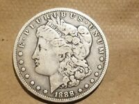 1888 O MORGAN SILVER DOLLAR LIBERTY HEAD $1 COIN AMERICAN EAGLE REVERSE