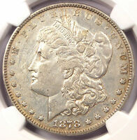 1878 RE-ENGRAVED WING MORGAN SILVER DOLLAR VAM-189 - NGC EXTRA FINE  DETAIL - $750 IN EF