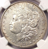 1878 POLISHED L MORGAN SILVER DOLLAR VAM-188 - NGC AU DETAIL - $650 VALUE IN AU