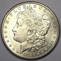 1883-S MORGAN SILVER DOLLAR $1 - EXCELLENT CONDITION -  LUSTER & FEATHERS