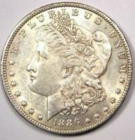 1886-O MORGAN SILVER DOLLAR $1 - NEARLY UNCIRCULATED UNC MS -  DATE