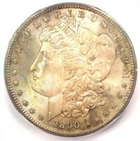 1890-S MORGAN SILVER DOLLAR $1 - ICG MINT STATE 66 -  IN MINT STATE 66 GRADE - $2,970 VALUE