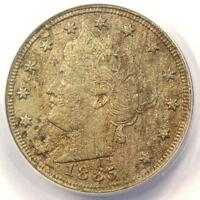 1885 LIBERTY NICKEL 5C - ANACS VF20 DETAILS -  DATE CERTIFIED COIN