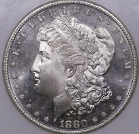 1880 S MORGAN SILVER DOLLAR NGC MS66 PL PROOF LIKE