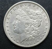 2 1897-O MORGAN SILVER DOLLARS AU VAM 6A AND VAM 5A