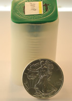 2018 UNITED STATES AMERICAN SILVER EAGLE ROLL OF 20 COINS BU