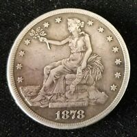 1878 S SILVER TRADE DOLLAR S$1 COIN STARTS AT A PENNY