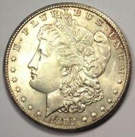 1902-S MORGAN SILVER DOLLAR $1 COIN - UNCIRCULATED DETAILS UNC MS -  DATE
