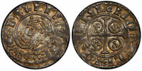 ENGLAND. WILLIAM THE CONQUERER  1066 87  ND SEWINE PENNY PCGS AU58 EXETER S 1257