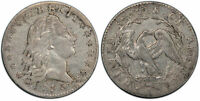 UNITED STATES OF AMERICA. 1795 AR HALF DIME. PCGS EXTRA FINE 40 FLOWING HAIR. KM 15.