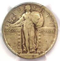 1921 STANDING LIBERTY QUARTER 25C - CERTIFIED PCGS VF30 -  DATE - $675 VALUE