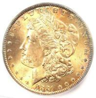 1881-P 1881 MORGAN SILVER DOLLAR $1 - ICG MINT STATE 65 -  IN MINT STATE 65 - $450 VALUE