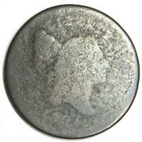 1795 LIBERTY CAP FLOWING HAIR HALF CENT COPPER 1/2C -  EARLY COIN