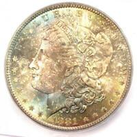 1881 MORGAN SILVER DOLLAR $1 1881-P - ICG MINT STATE 66 -  IN MINT STATE 66 - $1,940 VALUE