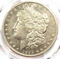 1895-S MORGAN SILVER DOLLAR $1 - CERTIFIED PCGS AU DETAILS -  COIN