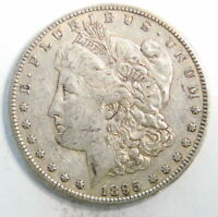 1895 S US MINT MORGAN SILVER $1 DOLLAR COIN  EXTRA FINE  FREE SHIP