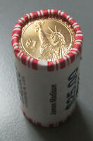 2007 JAMES MADISON PRESIDENTIAL $1 ROLL OF 25 COINS $25 ORIGINAL WRAPPED US MINT