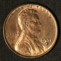 1931-S UNITED STATES SMALL CENTS LINCOLN WHEAT CENT - SHIPS FREE USA