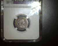 1805 5 BERRIES BUST DIME JR-1 - NGC VG DETAILS -  - JUST 120,500 MINTED