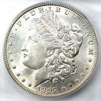 1897-O MORGAN SILVER DOLLAR $1 COIN - ICG MINT STATE 61  IN UNC BU - $1,190 VALUE