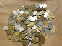 4 POUNDS OF COINS FROM FRANCE ONE LB FRENCH PRE EURO LOT FRANCS CENTIMES NICE